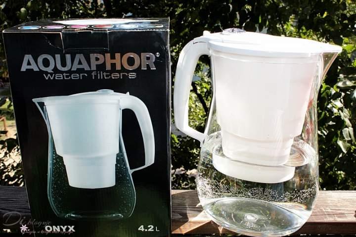 AQAPHOR Onyx, czyli największy dzbanek filtrujący z wkładem B25Mg – recenzja