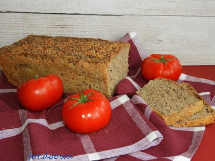 Chleb pszenno – żytni na zaczynie ze złotym lnem