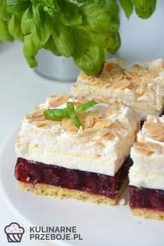 Ciasto Zemsta Teściowej – Wiśniowa Chmurka