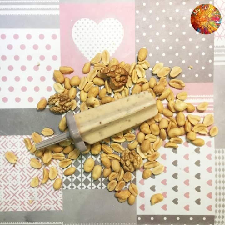 Lody orzechowe – vege, lactose free, gluten free, LOW FODMAP
