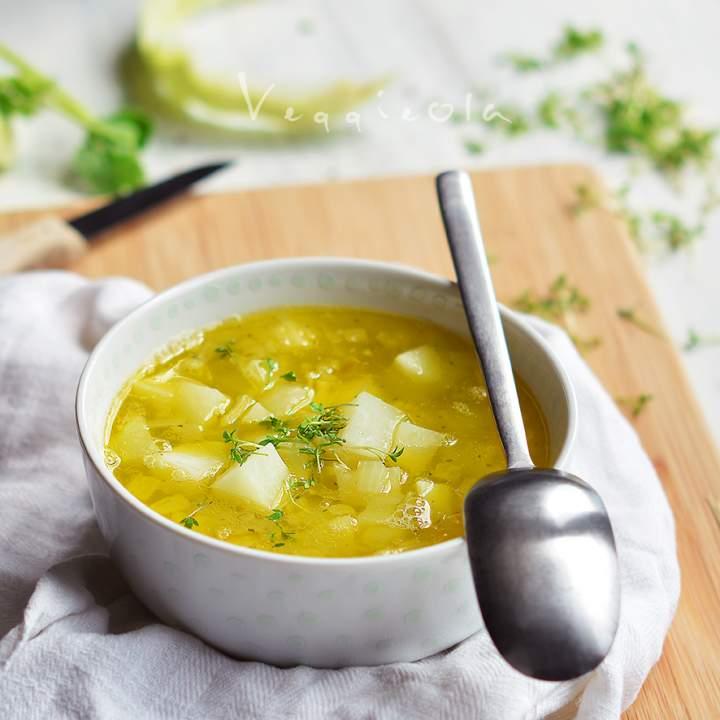 Najłatwiejsza na świecie zupa z kalarepy