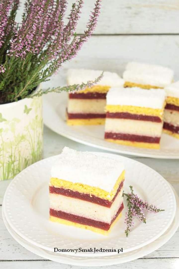 ciasto z musem śliwkowym