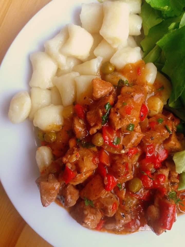 Gulasz z indyka / Turkey Stew
