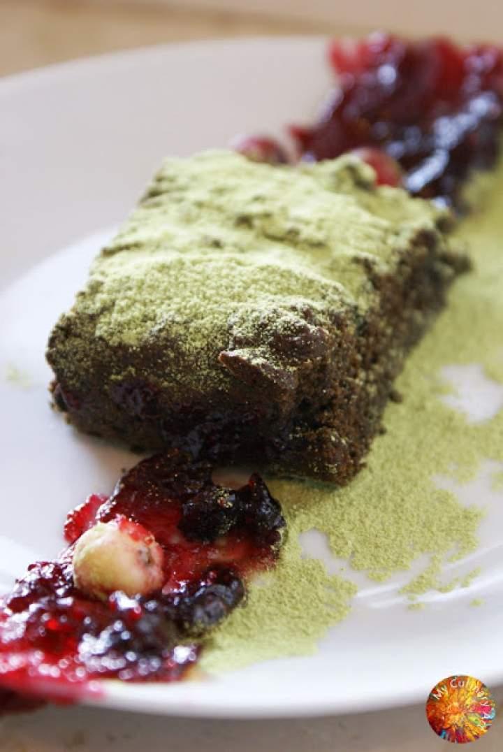"""Ciasto """"Leśne Runo"""" z mąki dyniowej – gluten free, lactose free, LOW FODMAP"""
