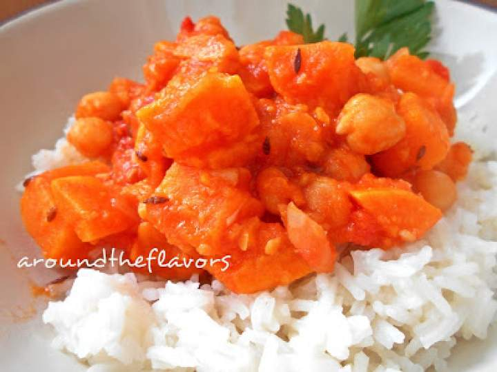 Curry z batatów