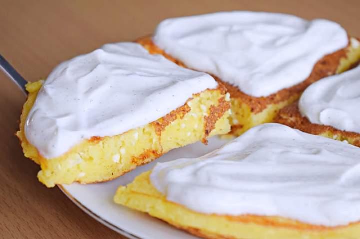 Najlepszy omlet sernikowy :)