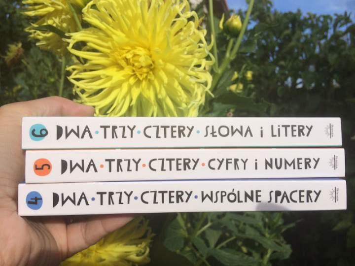 """""""Dwa, trzy, cztery"""" – seria książeczek dla maluchów"""