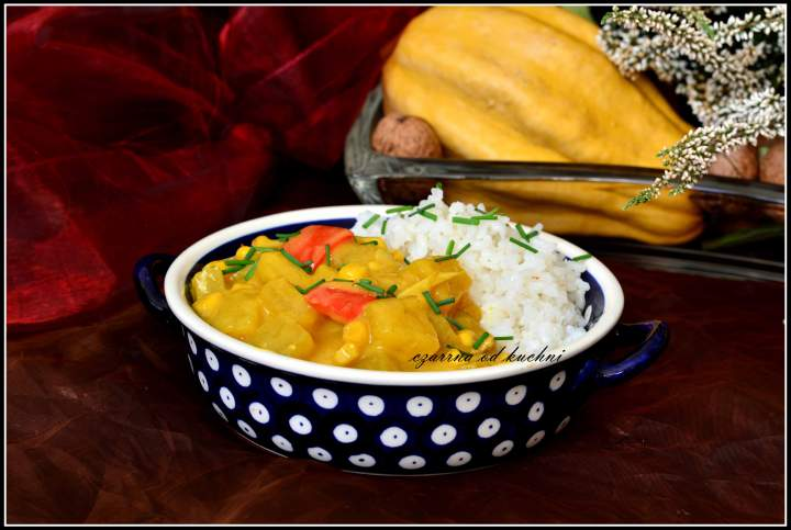 Dyniowe curry