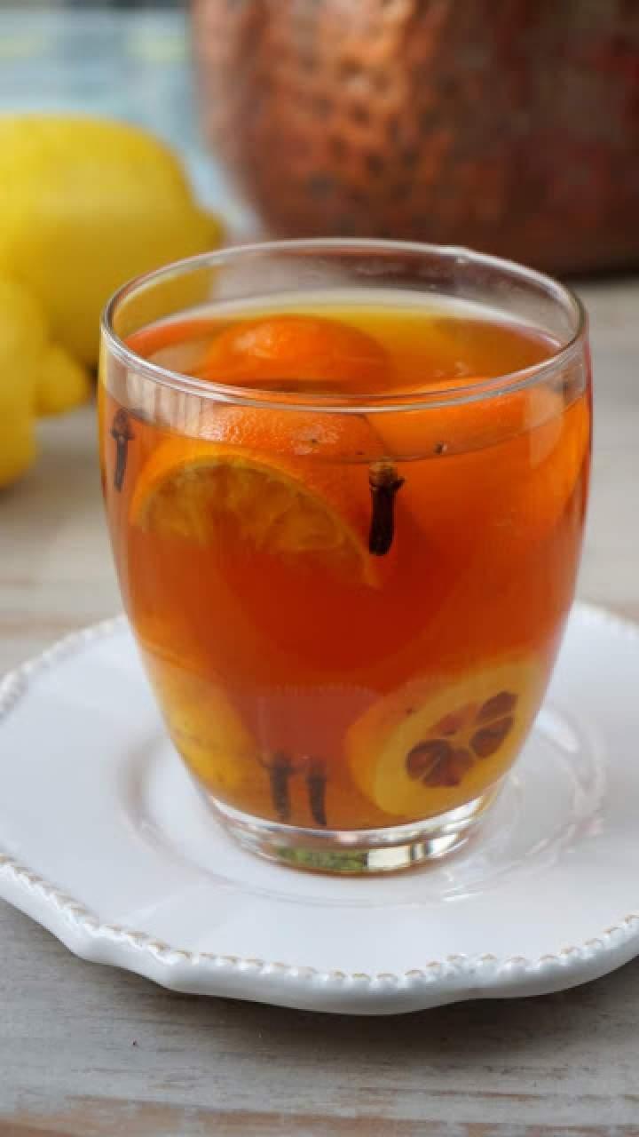 Herbata z mandarynką i pigwowcem