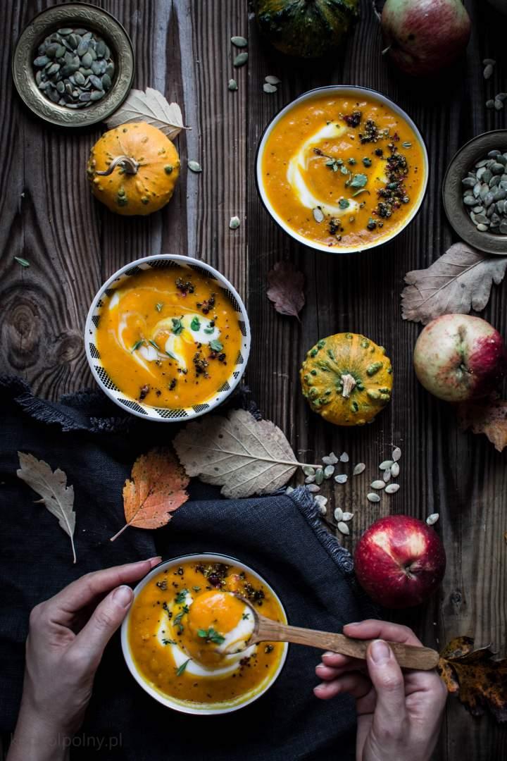 Zupa z dyni i fenkułu