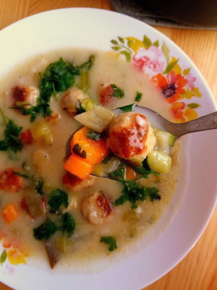 Zupa klopsikowa / Meatball Soup