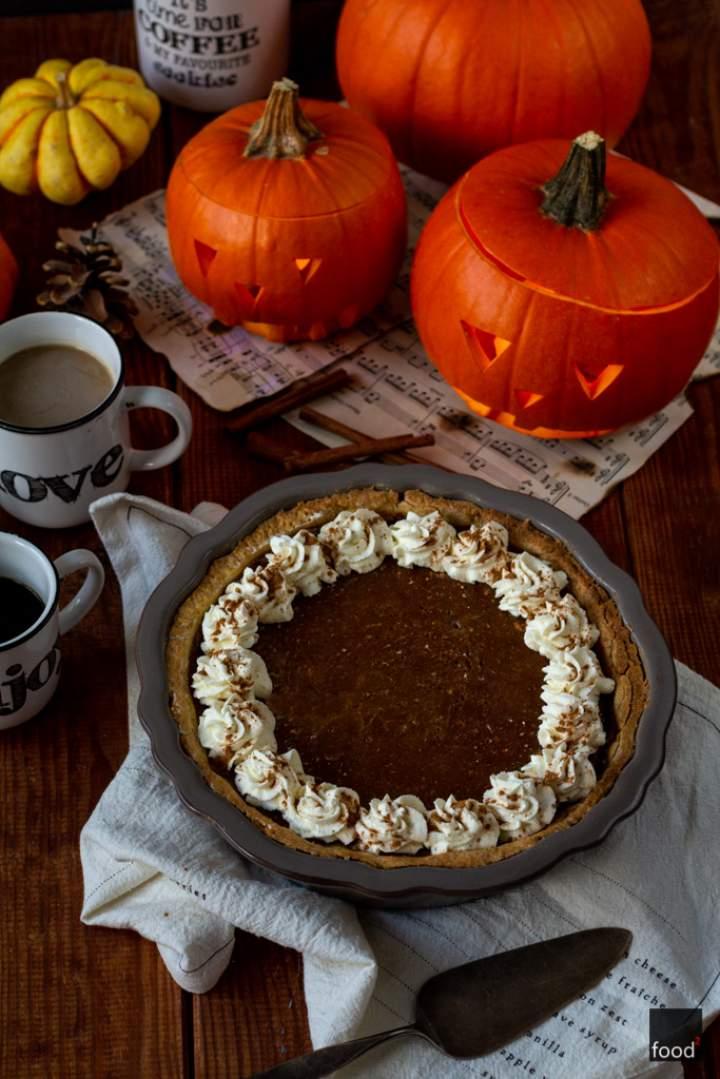 Pumpkin pie – tarta dyniowa