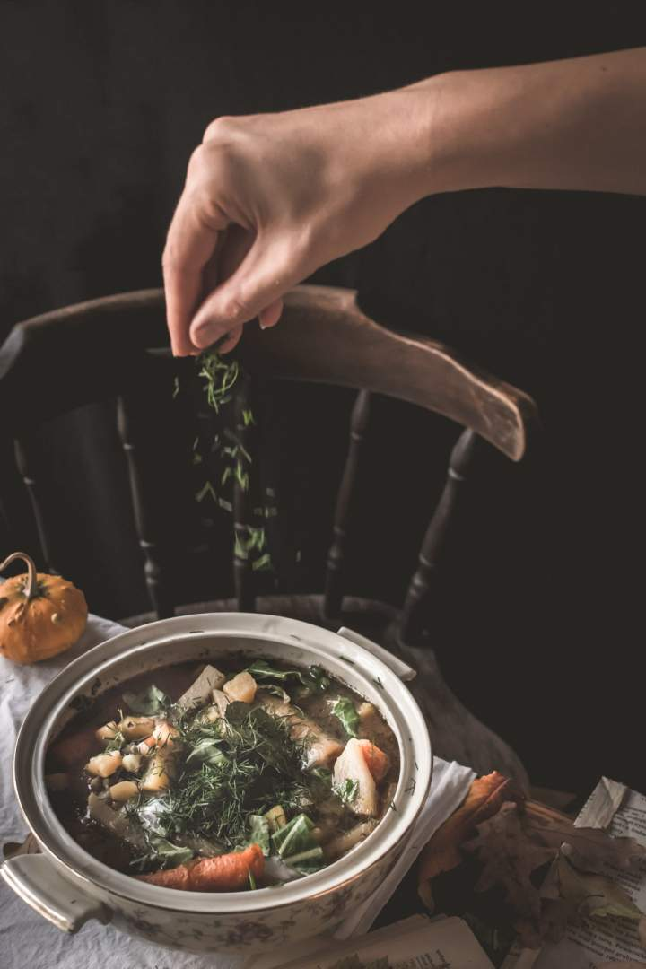 Oberiba – śląska zupa z kalarepy