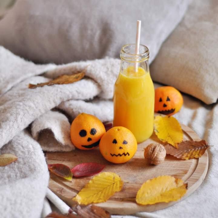 Jesienny koktajl mandarynkowy