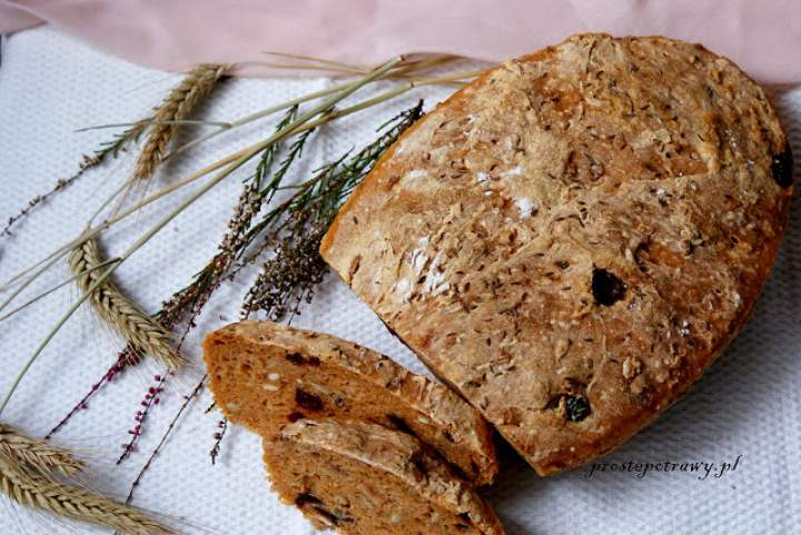 Chleb marchwiowy na zakwasie