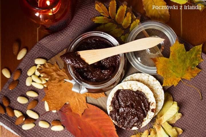 Krem czekoladowy z suszonymi wiśniami
