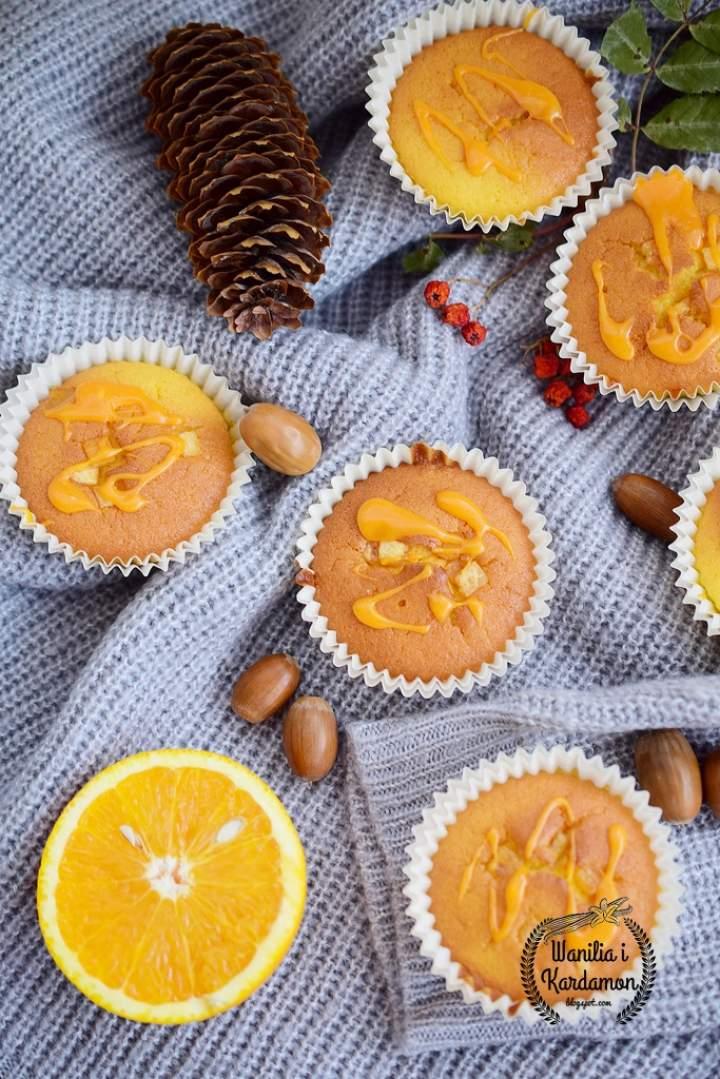 Jesienne babeczki pomarańczowe