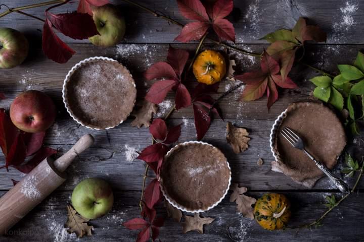 Tarty jabłkowo-marcepanowe