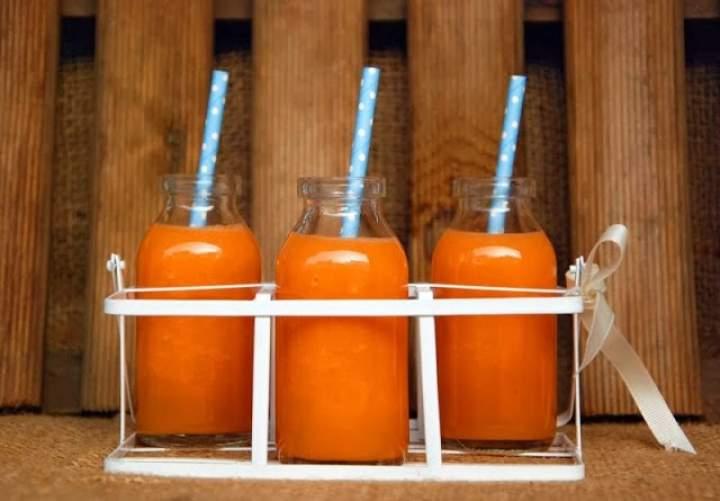 seler naciowy + jabłko + pomarańcza + marchew