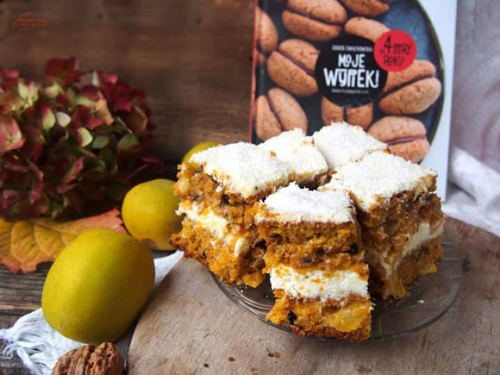 """Tropikalne ciasto dyniowe z książki """"Moje wypieki na cztery pory roku"""""""