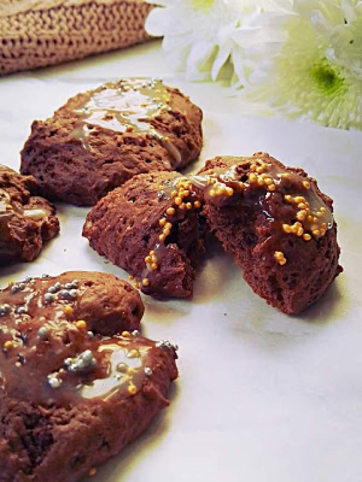 Budyniowe ciastka czekoladowe