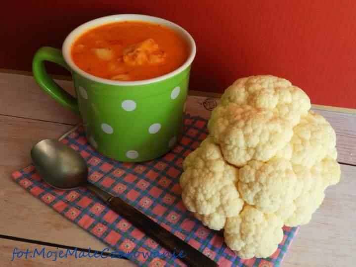 """Zupa z kalafiorów """"Vautiera"""""""