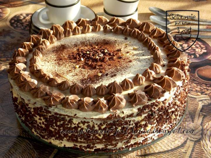 Tort czekoladowy – amaretto