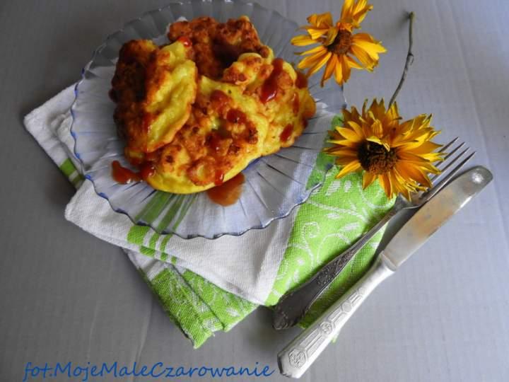 Kalafiorowe placuszki z curry