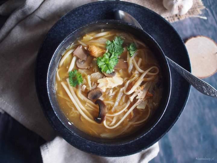 Kapuśniak w stylu orientalnym / Asian style cabbage soup
