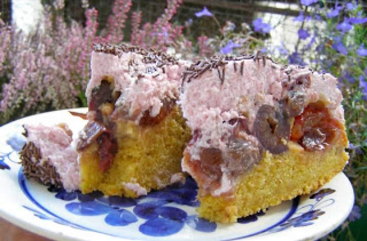 marchewkowe ciasto ze śliwkami…