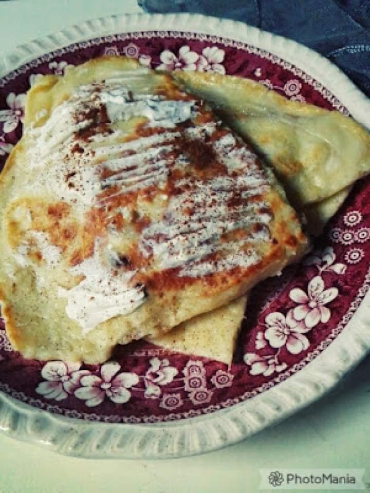Sernikowy omlet
