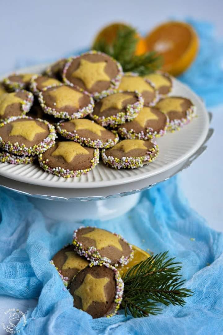 Kruche ciasteczka korzenno- pomarańczowe