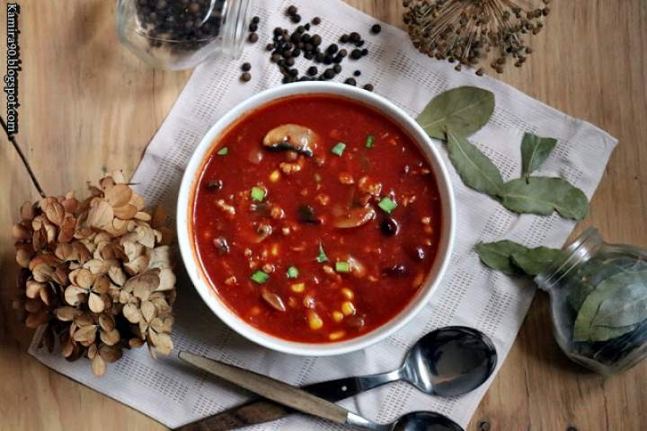 Zupa a la chili con carne
