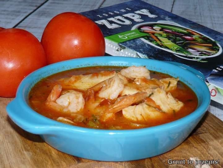 Śródziemnomorska zupa rybna