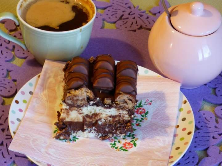 """Ciasto """"Kinder bueno""""(bez pieczenia)"""