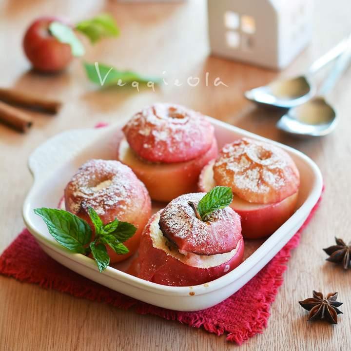 Nadziewane pieczone jabłka