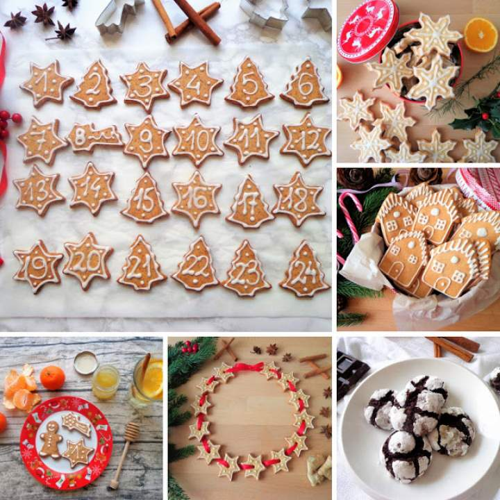 5 przepisów na ciasteczka do Kalendarza Adwentowego (5 ricette dei biscotti per Calendario dell'Avvento)