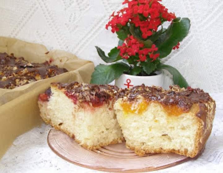 morelowo śliwkowe drożdżowe ciasto…