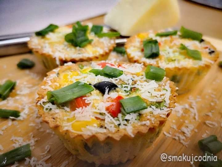 Lekkie muffiny jajeczne