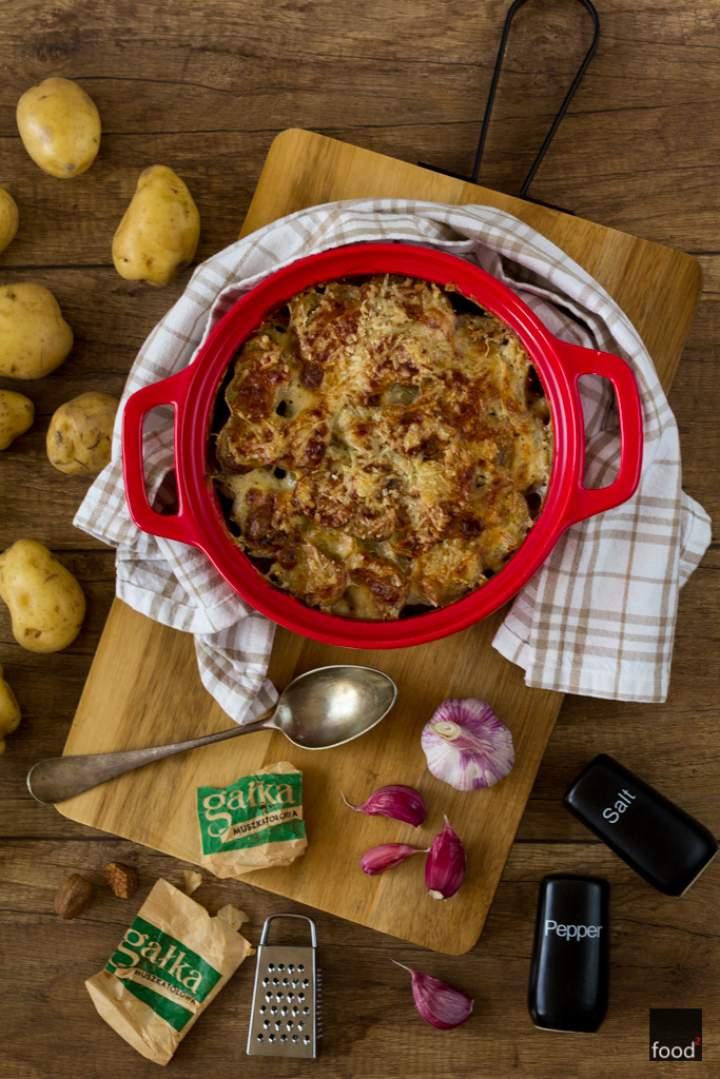 Gratin de pommes, czyli francuska zapiekanka z ziemniaków