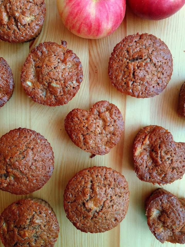 Muffiny z jabłkami / Apple Muffins