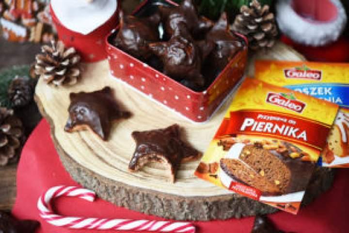 Zabezpieczony: Nadziewane pierniczki polane czekoladą