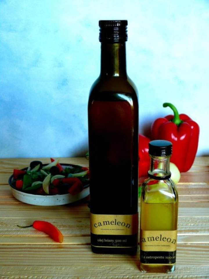Oleje Cameleon – recenzja oleju z ostropestu i lnianego