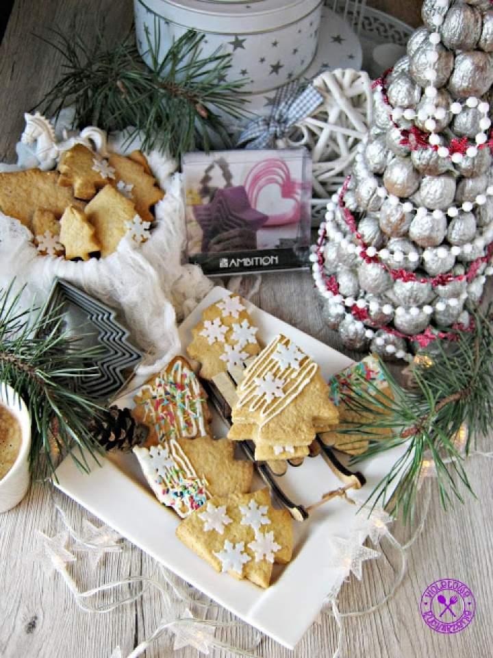 Ciasteczka choinki – na ostatnie 5 minut