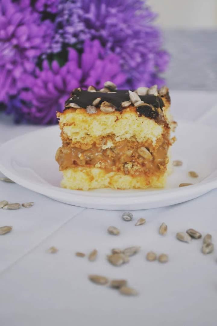 Słonecznik z ciastem, ciasto ze słonecznikiem – słonecznikowiec