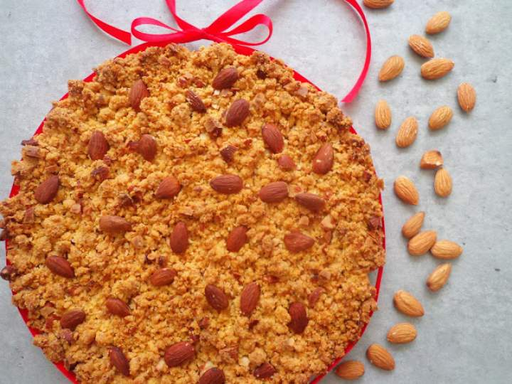 "Włoskie ciasto ""Sbrisolona"" z Mantova (Sbrisolona mantovana)"