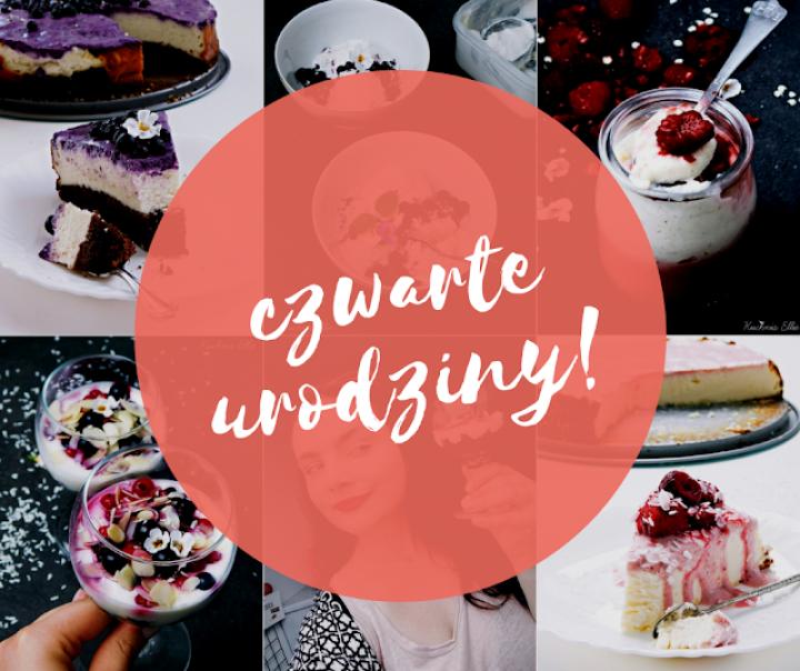 Czwarte urodziny bloga! – podsumowanie, zmiany