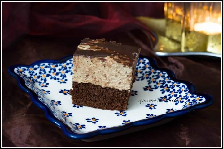 Ciasto czekoladowe z pianką kawową