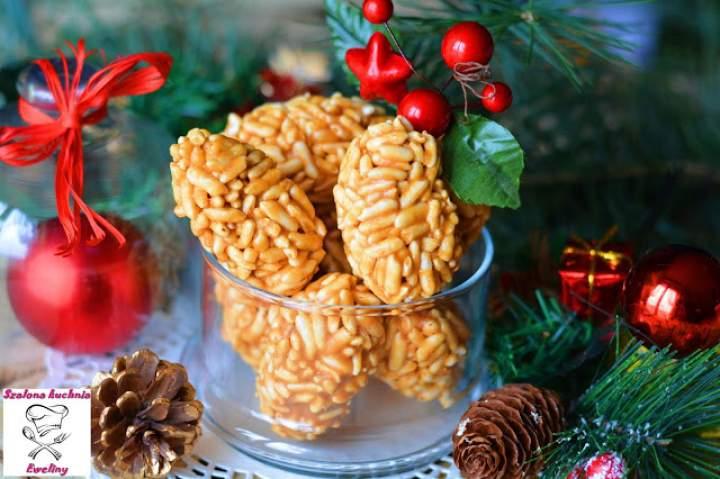 Słodki smak świąt czyli krówkowe szyszki
