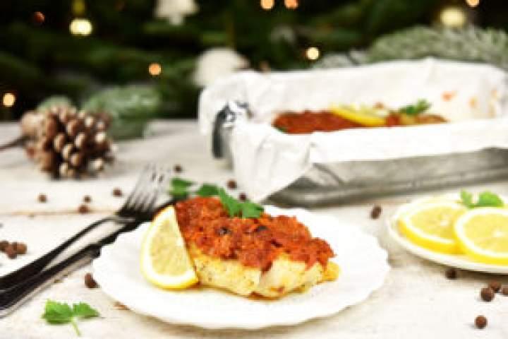 Zabezpieczony: Pieczona ryba pogrecku